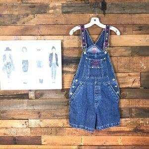 Bum Equipment short jean overalls